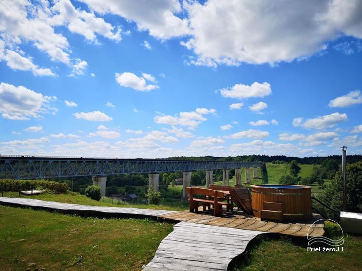 Lauku sēta Pie tilta Raseiniu reģionā pie Dubysas upes - 1