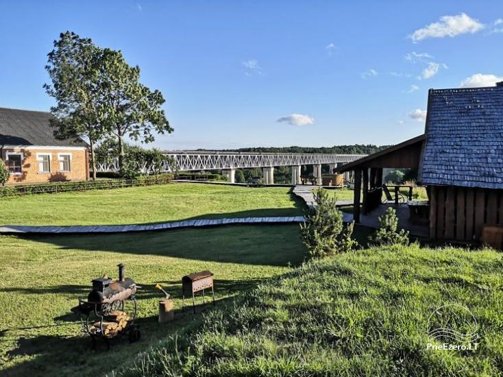 Lauku sēta Pie tilta Raseiniu reģionā pie Dubysas upes - 12