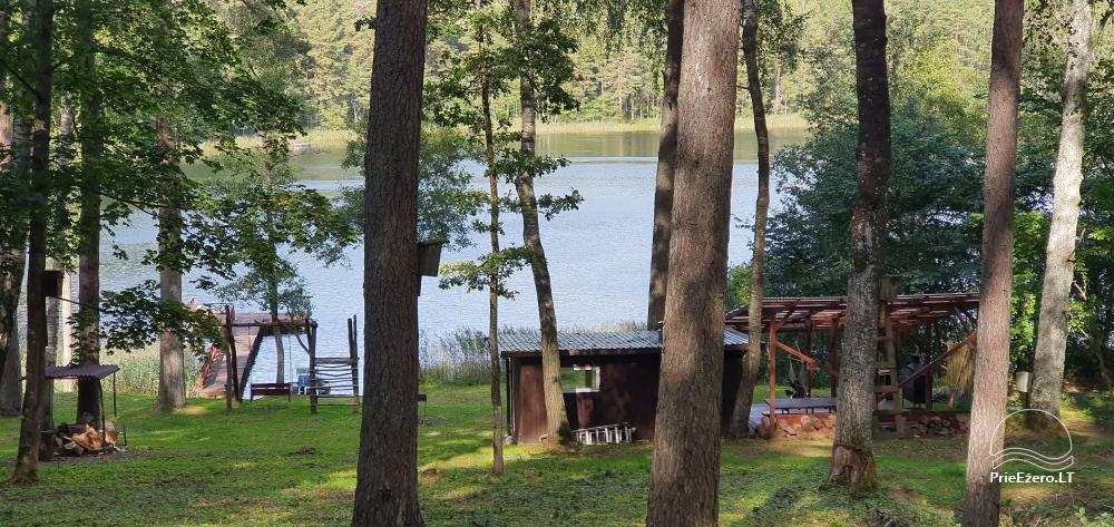Lauku sēta ar privātu ezera krastu - 5