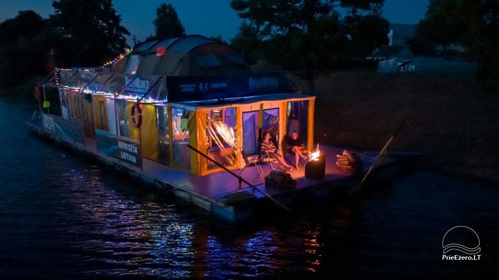 Plosta NEMO noma Aviris ezerā: naktsmītnes, ēdināšana, sauna, svinības! - 7