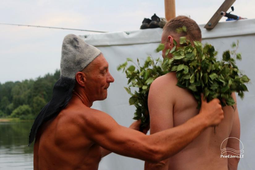 Plosta NEMO noma Aviris ezerā: naktsmītnes, ēdināšana, sauna, svinības! - 16