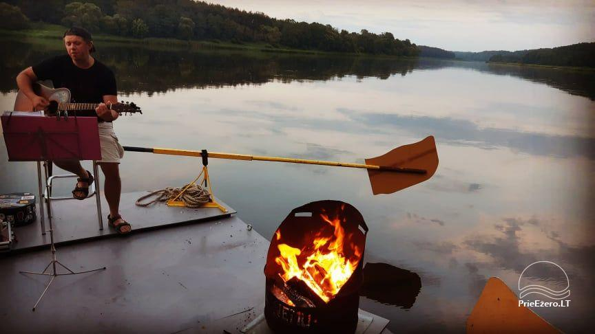 Plosta NEMO noma Aviris ezerā: naktsmītnes, ēdināšana, sauna, svinības! - 23