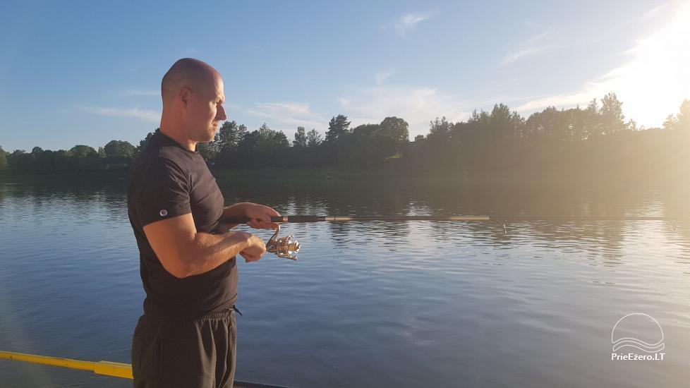 Plosta NEMO noma Aviris ezerā: naktsmītnes, ēdināšana, sauna, svinības! - 29