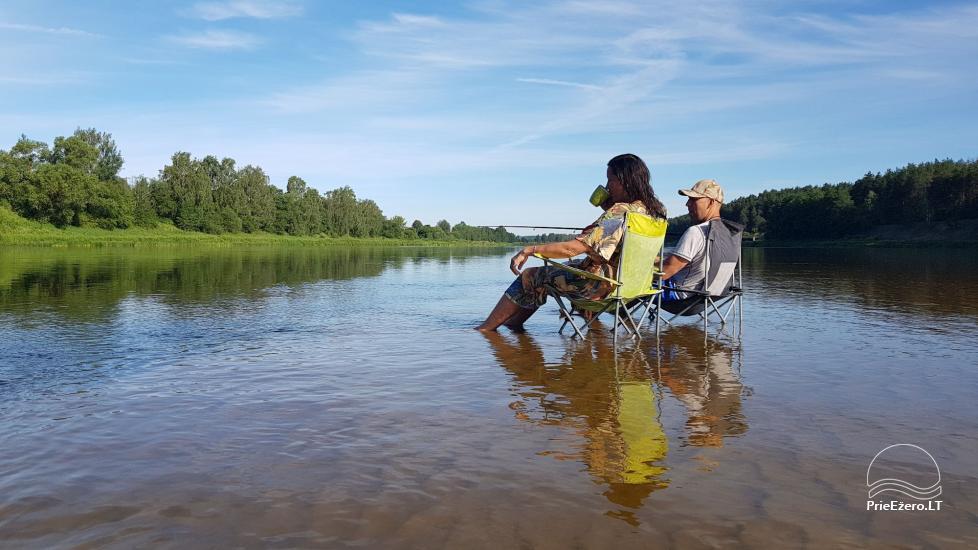 Plosta NEMO noma Aviris ezerā: naktsmītnes, ēdināšana, sauna, svinības! - 30