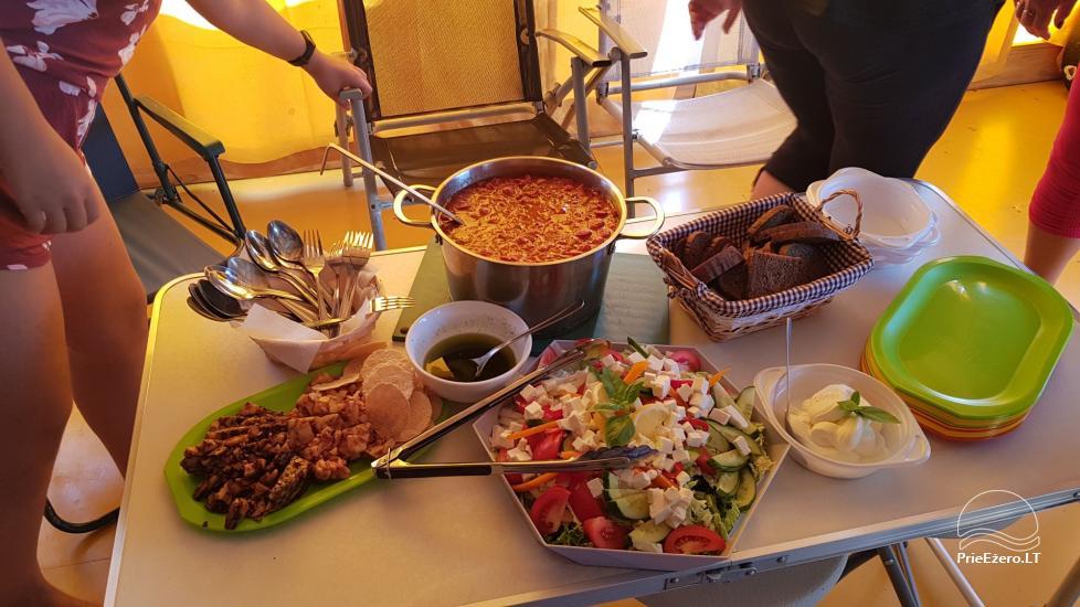 Plosta NEMO noma Aviris ezerā: naktsmītnes, ēdināšana, sauna, svinības! - 34