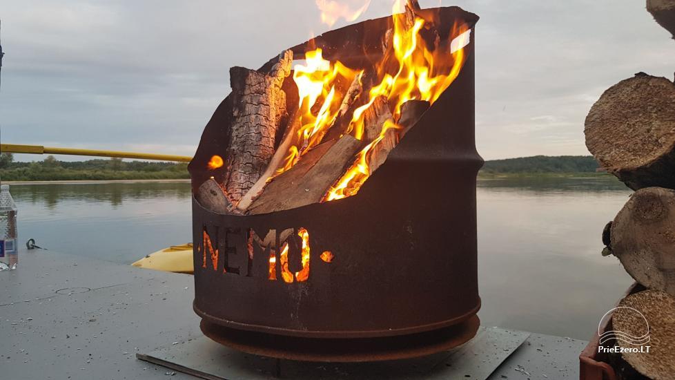 Plosta NEMO noma Aviris ezerā: naktsmītnes, ēdināšana, sauna, svinības! - 35