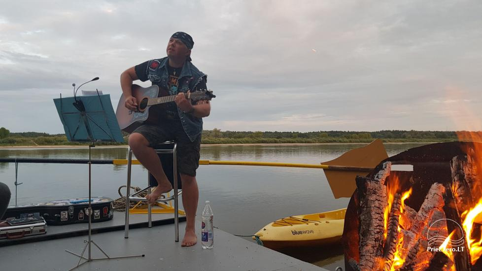 Plosta NEMO noma Aviris ezerā: naktsmītnes, ēdināšana, sauna, svinības! - 36