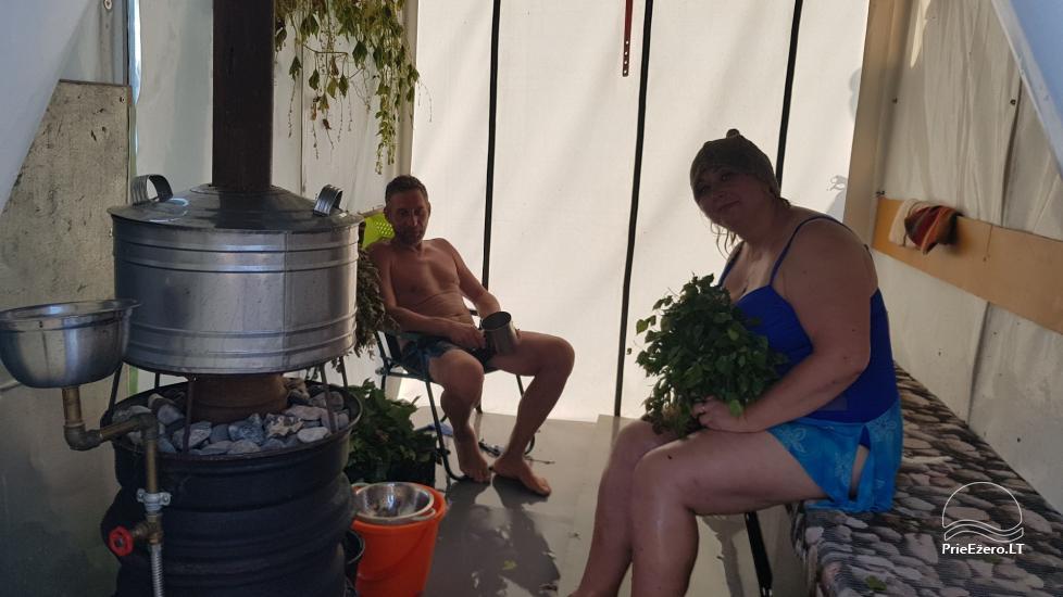 Plosta NEMO noma Aviris ezerā: naktsmītnes, ēdināšana, sauna, svinības! - 37