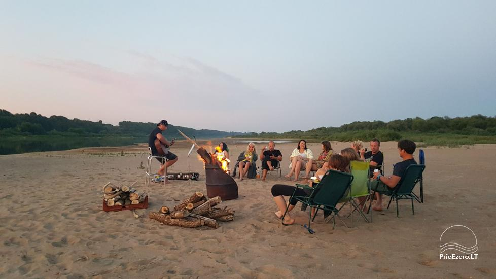 Plosta NEMO noma Aviris ezerā: naktsmītnes, ēdināšana, sauna, svinības! - 39