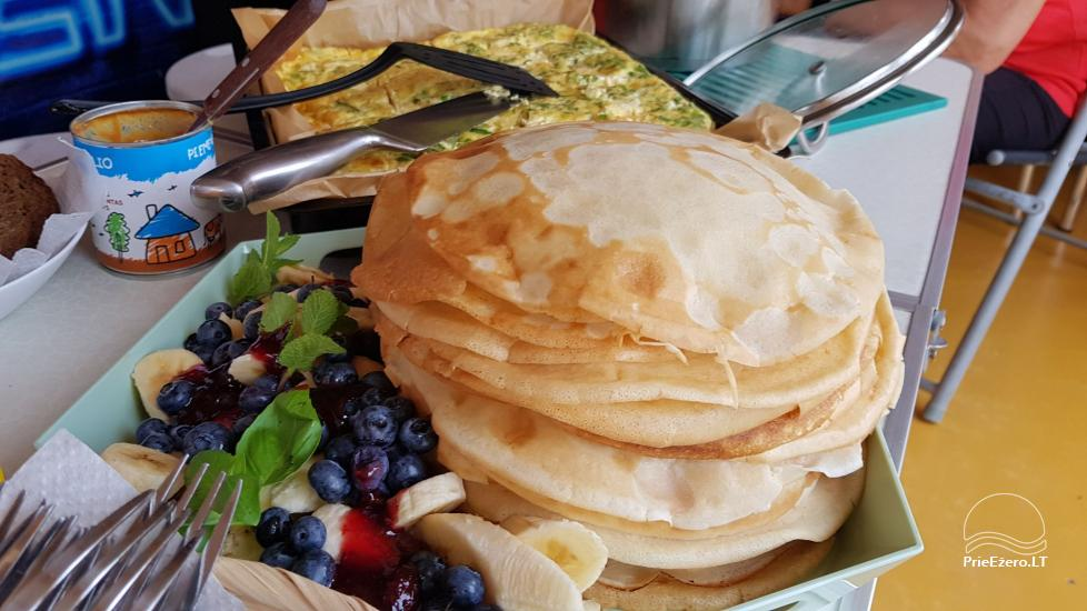 Plosta NEMO noma Aviris ezerā: naktsmītnes, ēdināšana, sauna, svinības! - 43