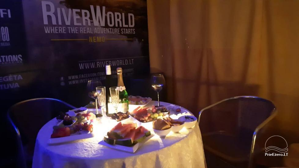 Plosta NEMO noma Aviris ezerā: naktsmītnes, ēdināšana, sauna, svinības! - 50