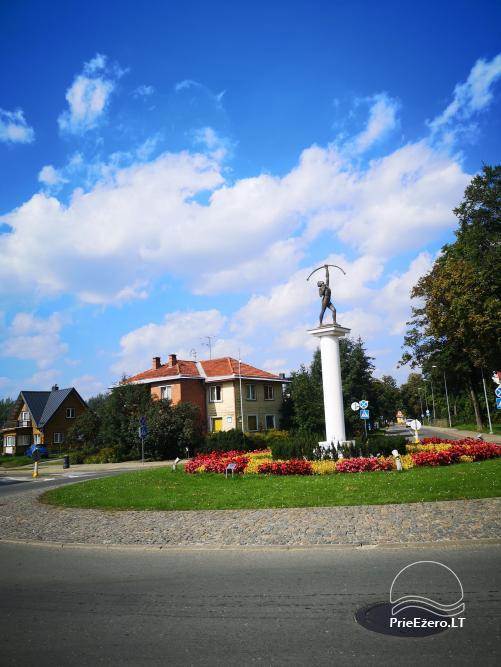 Mājīgs dzīvoklis Druskininku centrā - 14