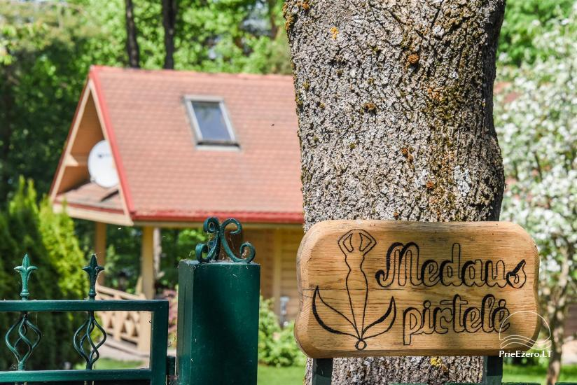 Medus pirts Trakai pie ezera Skasitis - 6