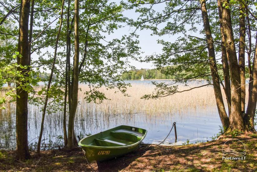 Medus pirts Trakai pie ezera Skasitis - 31