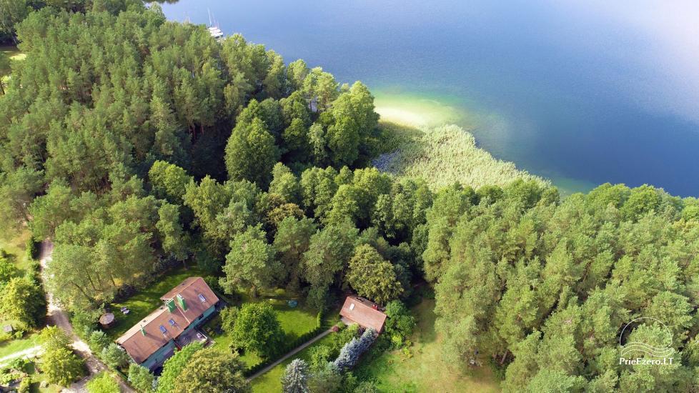 Medus pirts Trakai pie ezera Skasitis - 38