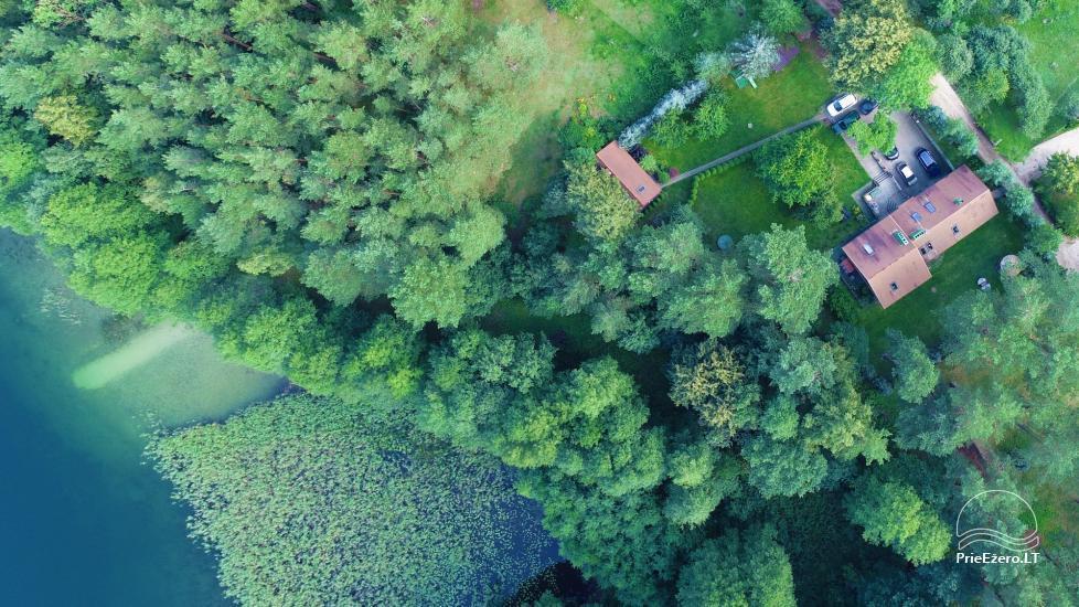 Medus pirts Trakai pie ezera Skasitis - 47