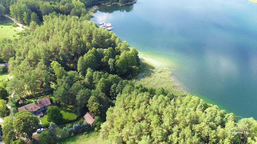 Medus pirts Trakai pie ezera Skasitis - 39