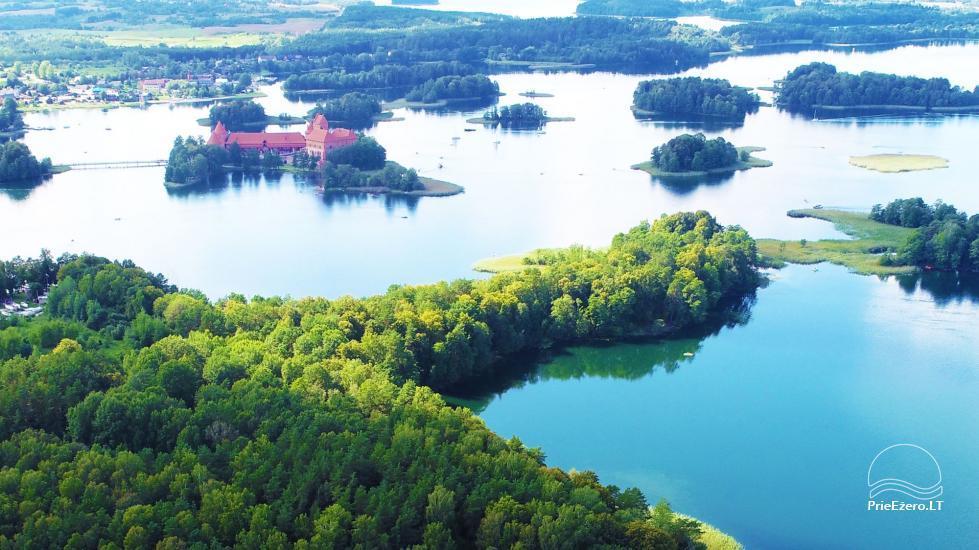 Medus pirts Trakai pie ezera Skasitis - 53