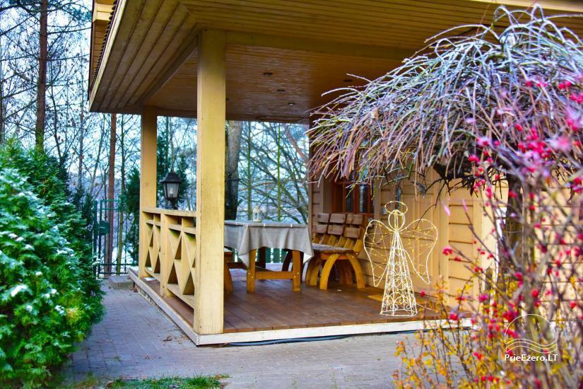 Medus pirts Trakai pie ezera Skasitis - 23