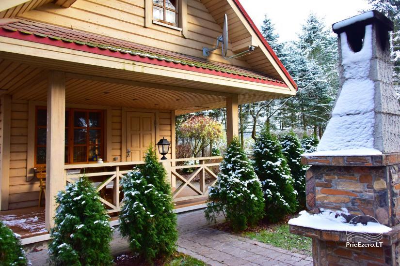 Medus pirts Trakai pie ezera Skasitis - 26