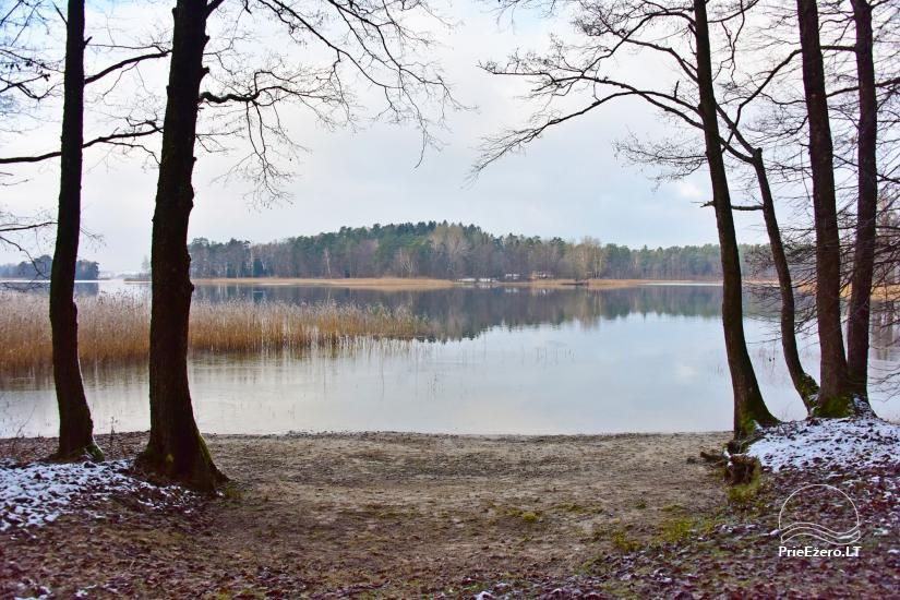 Medus pirts Trakai pie ezera Skasitis - 29