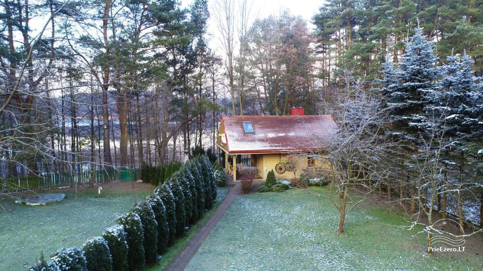Medus pirts Trakai pie ezera Skasitis - 36