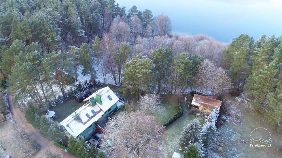 Medus pirts Trakai pie ezera Skasitis - 49