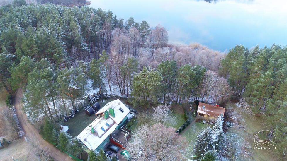 Medus pirts Trakai pie ezera Skasitis - 48