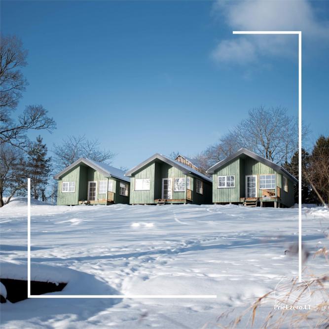 4 gultu kotedžas ar visām ērtībām ezera krastā netālu no Plateliai māja - 1