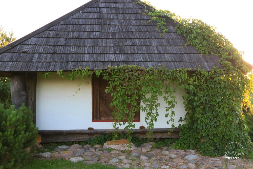 Sēta Ignalinas rajonā dīķa krastā Ažvinčių sodyba - 16