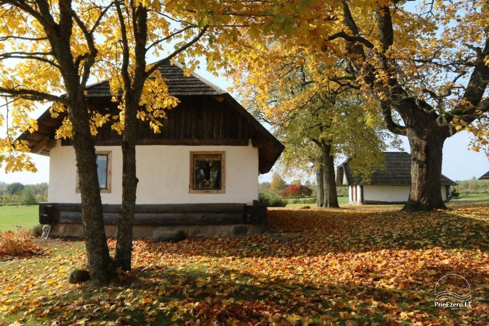Sēta Ignalinas rajonā dīķa krastā Ažvinčių sodyba - 1