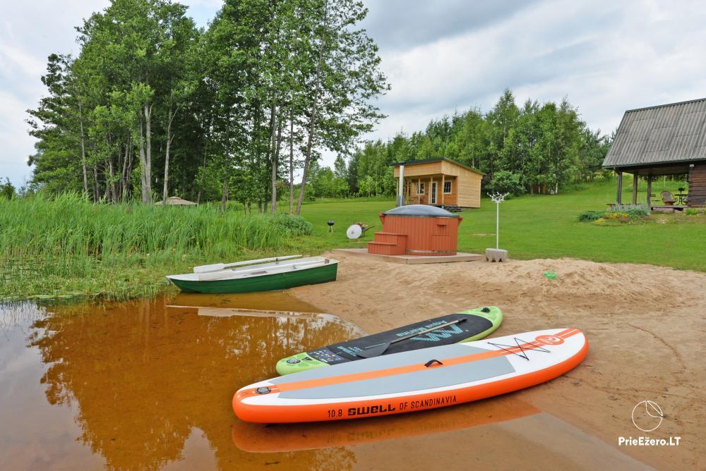 Privāta viensēta Utenas rajons. VillaRedvita ezera krastā. Bez kaimiņiem - 2