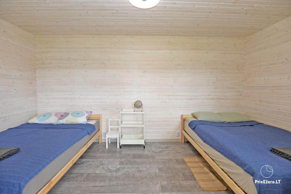 Privāta viensēta Utenas rajons. VillaRedvita ezera krastā. Bez kaimiņiem - 19