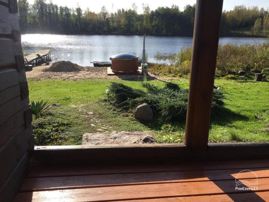 Privāta viensēta Utenas rajons. VillaRedvita ezera krastā. Bez kaimiņiem - 22