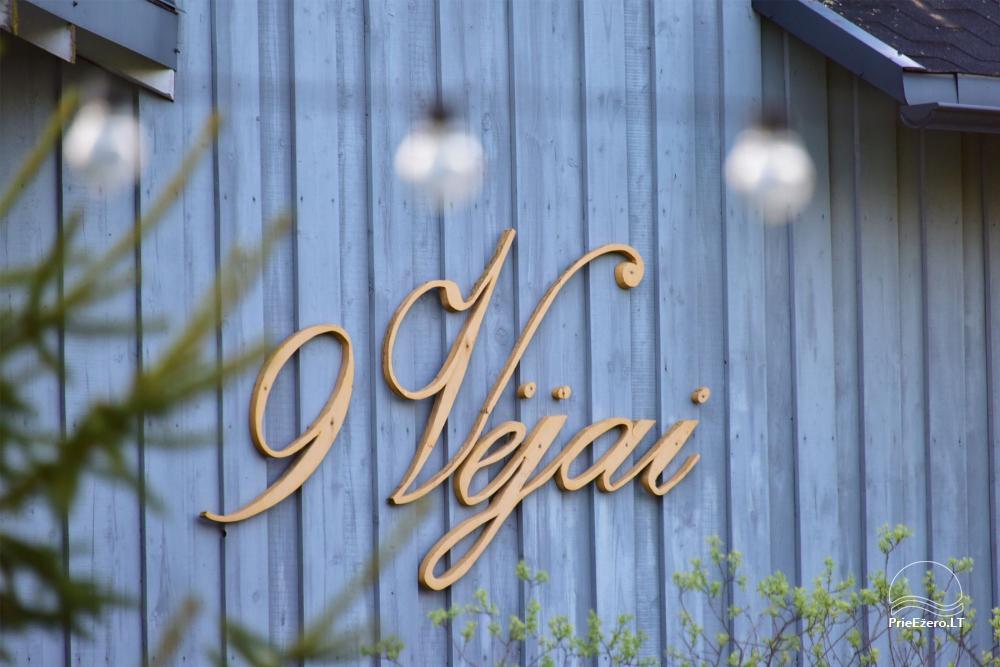 Apartamenti romantiskām brīvdienām, brīvdienu māja ģimenei - Villa 9Vėjai - 38