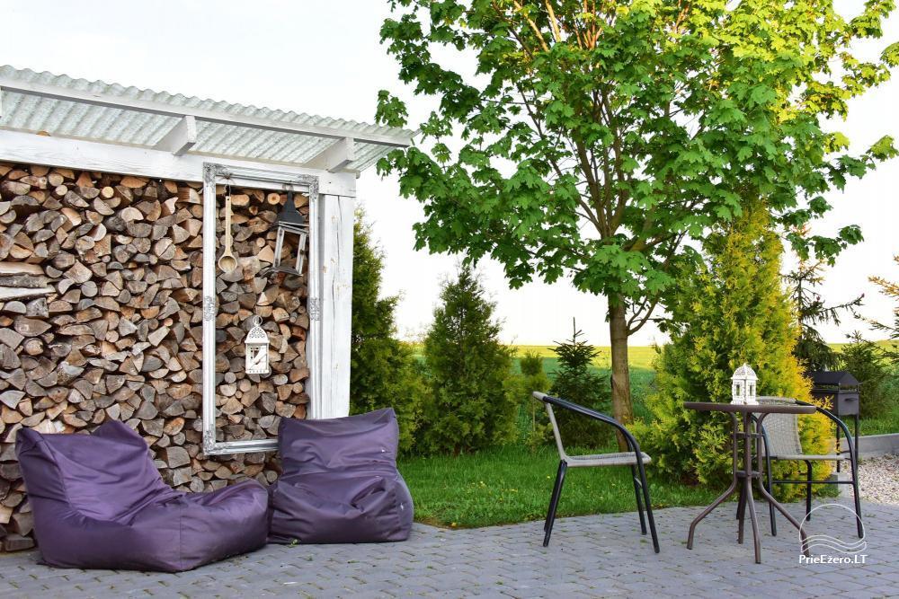 Apartamenti romantiskām brīvdienām, brīvdienu māja ģimenei - Villa 9Vėjai - 14