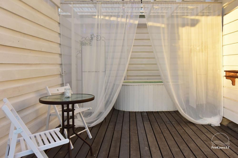 Apartamenti romantiskām brīvdienām, brīvdienu māja ģimenei - Villa 9Vėjai - 17