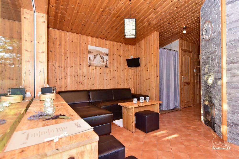 Apartamenti romantiskām brīvdienām, brīvdienu māja ģimenei - Villa 9Vėjai - 22