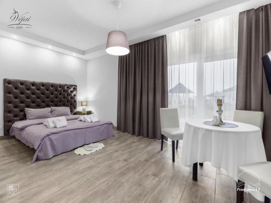 Apartamenti romantiskām brīvdienām, brīvdienu māja ģimenei - Villa 9Vėjai - 11