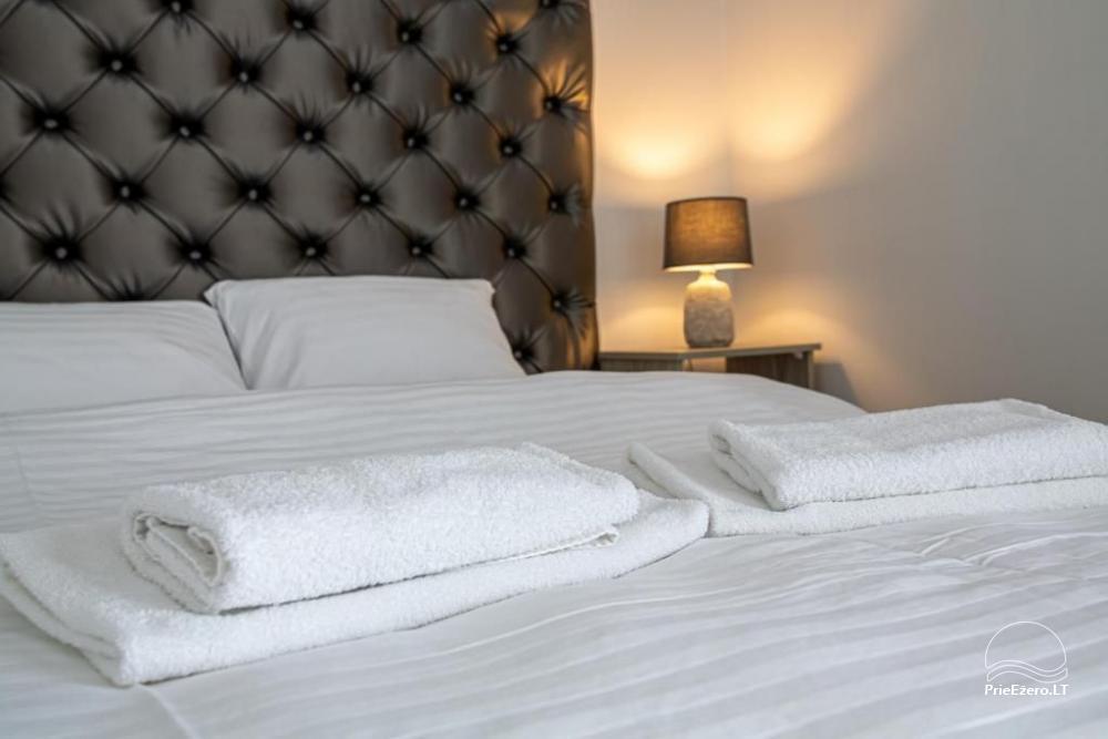 Apartamenti romantiskām brīvdienām, brīvdienu māja ģimenei - Villa 9Vėjai - 12