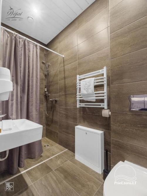 Apartamenti romantiskām brīvdienām, brīvdienu māja ģimenei - Villa 9Vėjai - 13