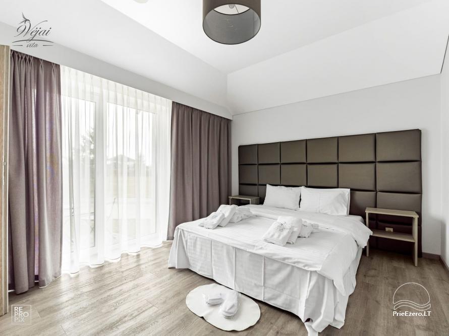 Apartamenti romantiskām brīvdienām, brīvdienu māja ģimenei - Villa 9Vėjai - 10