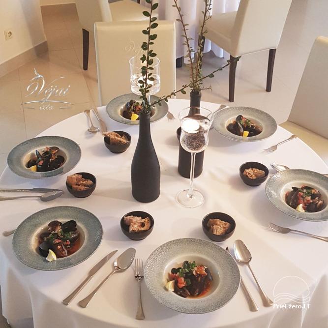 Apartamenti romantiskām brīvdienām, brīvdienu māja ģimenei - Villa 9Vėjai - 28