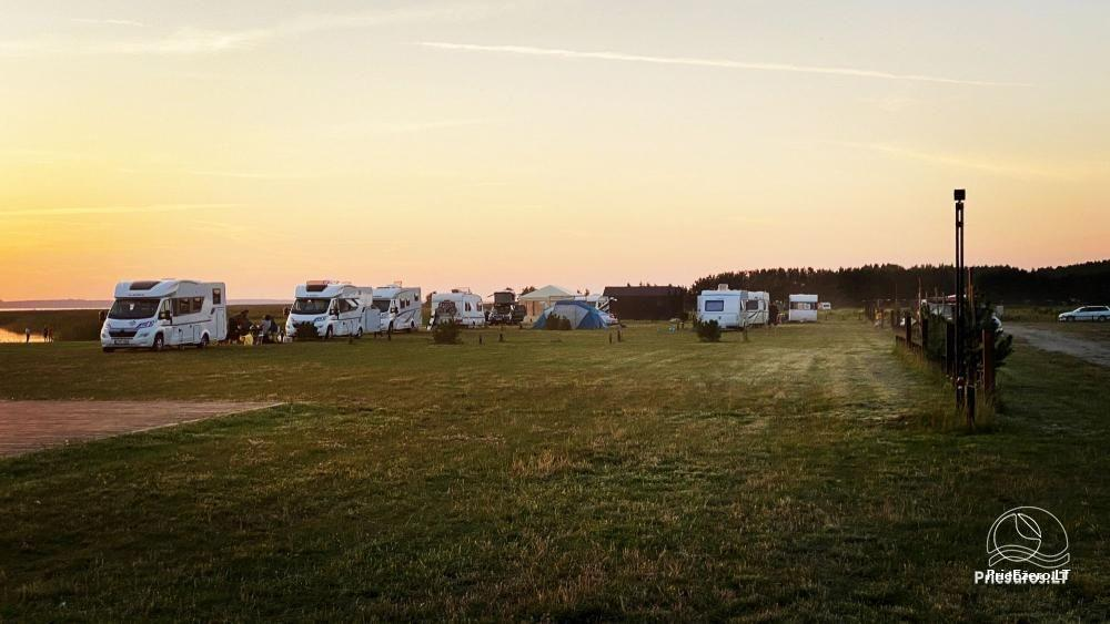 Fenas Kite Spot kempings Lietuvā, Svencelē - 8