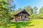 """Vasaras māja viensētā Varēnas rajonā, Rudnijas ciematā """"Nykštukas"""""""