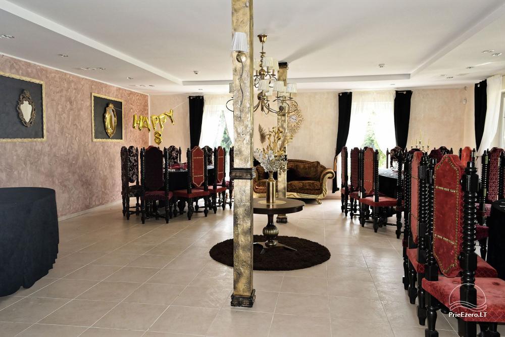 Vila Forest Resort - Miera oāze ekskluzīvām svinībām, ballītēm, pasākumiem - 14