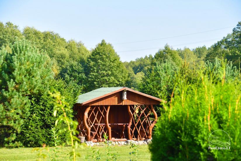 Lauku mājas Mildupis pie upes Varena rajonā - 12