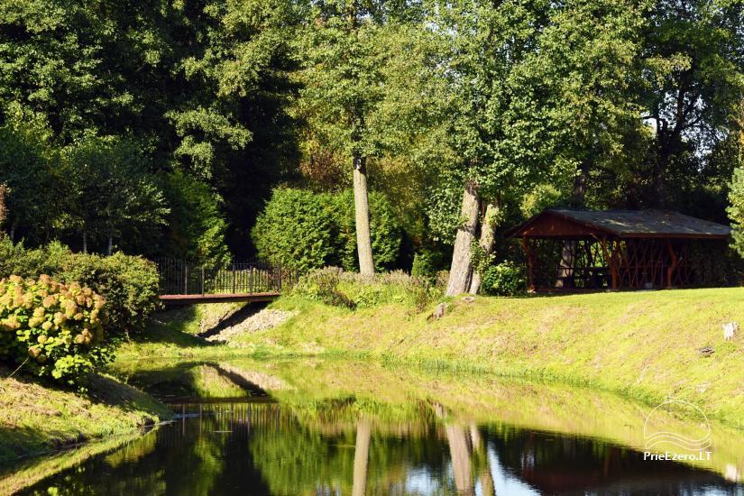 Lauku mājas Mildupis pie upes Varena rajonā - 10