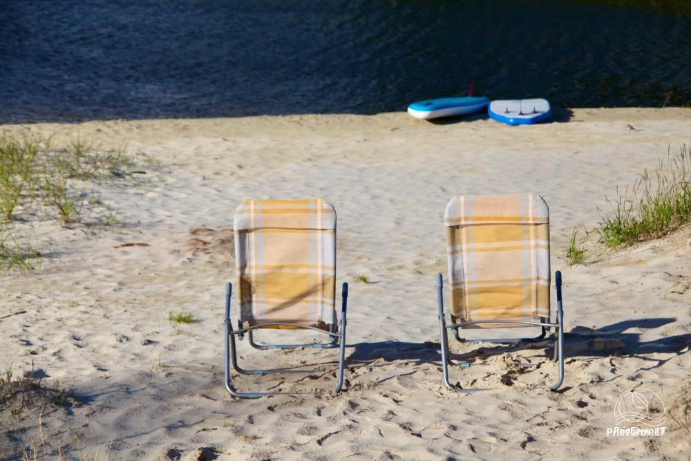 Izcila māja Kuršu lagūnas krastā ar privātu pludmali - 5