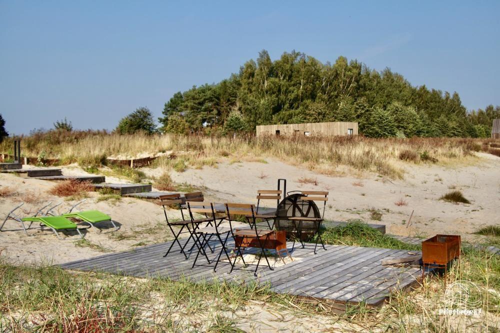 Izcila māja Kuršu lagūnas krastā ar privātu pludmali - 9